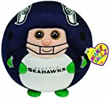 Ty Beanie Ballz Seattle Seahawks - Medium at Amazon.com