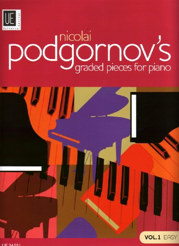 """Nicolai Podgornov'S Graded Pieces For Piano Vol.1 Das Moderne """"""""Album Für Die Jugend""""""""  - Piano"""