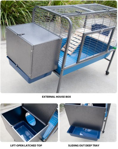 Mcage-Extra-Large-Heavy-Duty-Rabbit-Animal-Cage-Series-With-Stand-and-Metal-Storage-Box-52-Inch-by-22-12-Inch-by-35-12-Inch