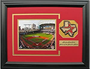 CGI Sports Memories Houston Astros Minute Maid Park Photo Frame with 3D Double Mat by CGI Sports Memories
