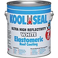Kool Seal KST063300-16 White Elastomeric Roof Coating-GAL ELASTOMRC RF COATING