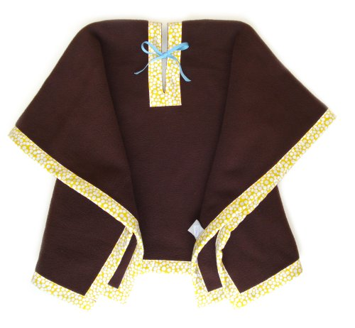 Kid's Blanket & Poncho (Chocolate)