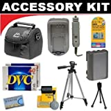 Deluxe DB ROTH Accessory kit For The Canon XH-A1, XH-A1S, XH-G1, XL-1S, XL1, XL2, XL-H1, GL2, GL1, XM2, XM1 Mini Dv Camcorders