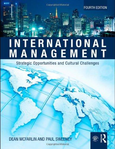International Management: Strategic Opportunities &...