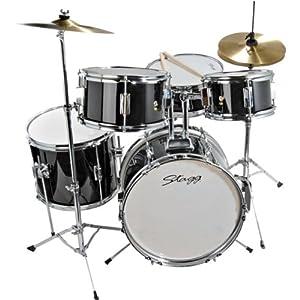5 piece junior drum set musical instruments. Black Bedroom Furniture Sets. Home Design Ideas