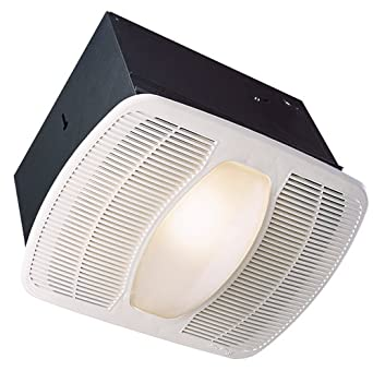 Air king ak100l deluxe bath fan with light and night light - Air king bathroom fan light combo ...