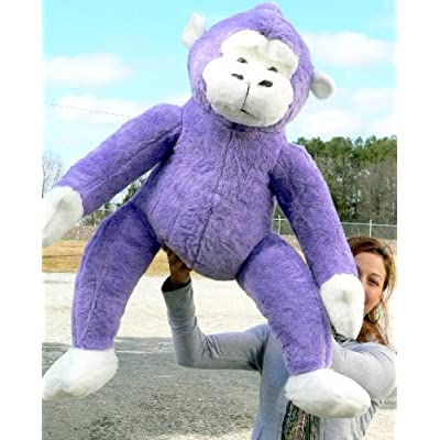 Lavender Violet Color Fur - Stuffed Soft - Made in the USA America