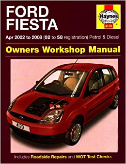 ford fiesta owners workshop manual 2002 to 2008 haynes. Black Bedroom Furniture Sets. Home Design Ideas