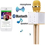 Konarrk Karaoke New Microphone Wireless, Portable Handheld Singing Machine Condenser Microphones Mic And Bluetooth...