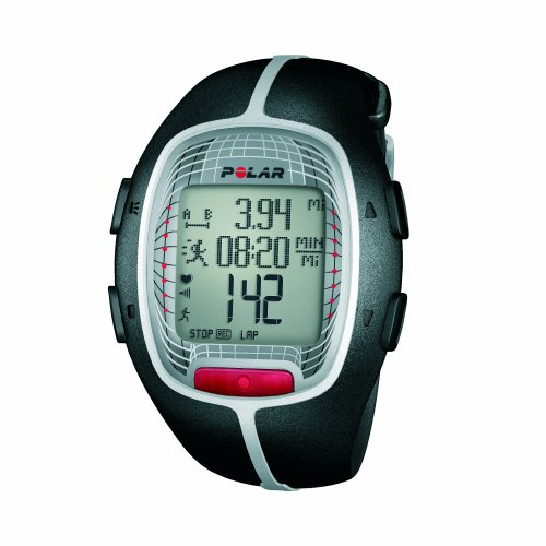 Polar RS300X SD Heart Rate Monitor Watch with S1 Foot Pod (Black)
