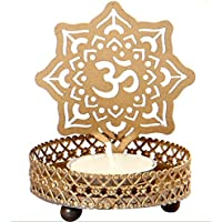 Odishabazaar Shadow Om Tea Light Candle Holder For Home Decor