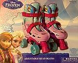 Disney Frozen Quad Adjustable Roller Skates Ages 4 and up Size 1-4
