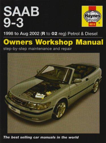 saab-9-3-petrol-and-diesel-service-and-repair-manual-1998-to-2002-haynes-service-and-repair-manuals