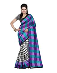 Desi Look Art Silk Saree(Dilip13_Purple)
