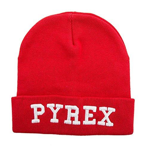 pyrex-cappello-stampato-uomo-donna-unisex-zuccotto-33022-rosso