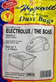Qualtex Dust Bags For Electrolux E59 U59 Vacuum Cleaners Pack of 5