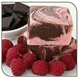 Mo's Fudge, Dark Chocolate Raspberry Fudge One Pound