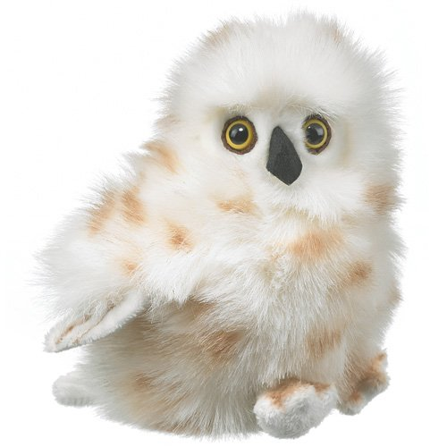 "Snowy Owl Plush Toy 7"" - 1"