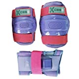 Knee Pads, Elbow Pads and Wrist Guards - Childs Triple Set - Lilacby Xcess