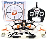 RC Stunt Drone Quadcopter w/ 360 Flip: Crash Proof, 2.4GHz, 4 CH, 3 Bladed Propellers, Extra Drone Battery for Extended Fly Time w/ Practice Landing Pad, 2 USB Charger & Spare Parts