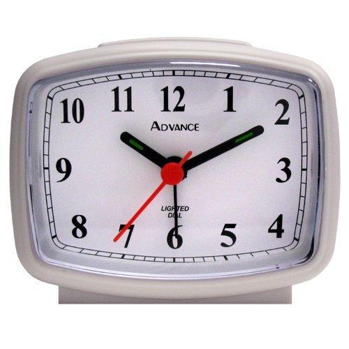 Tna Advance White Electric Qa Alarm Clock