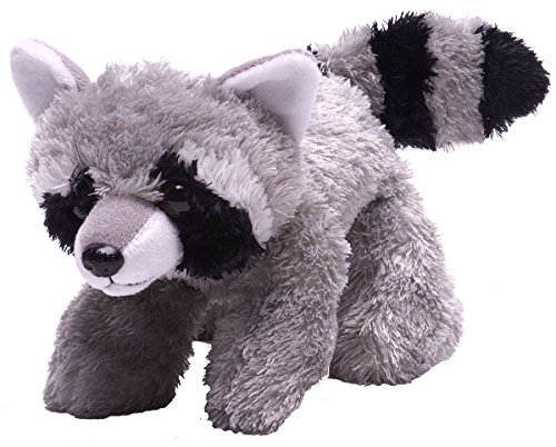Wild Republic Hug Ems Raccoon Plush Toy