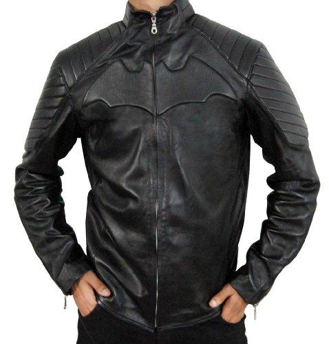 Bruce Wayne Dark Knight Batman Leather Jacket XL