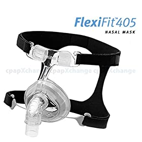 FlexiFit 405 Nasal CPAP/BiPAP Mask with Headgear from Fisher & Paykel