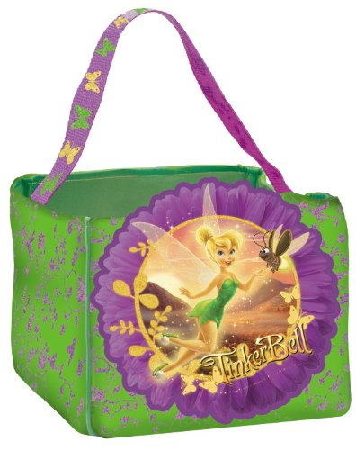 Tinkerbell Trick or Treat Bag - Disney Fairies Halloween Candy Gift Bag