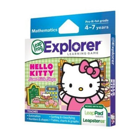 LeapFrog Explorer Sanrio Hello Kitty Sweet Little Shops Learning Game Toy, Kids, Play, Children - 1