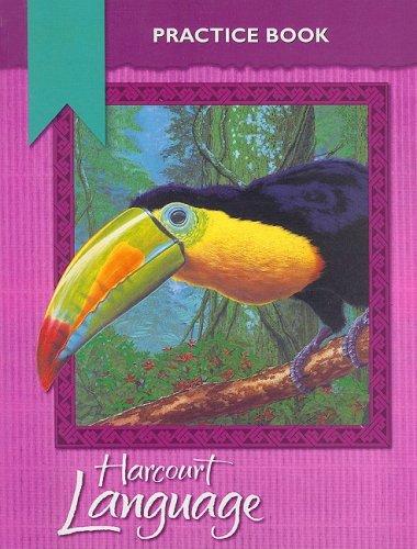 Harcourt Language Practice Book, Grade 5