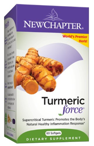 New Chapter Turmericforce, 60 Softgels