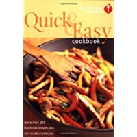 American Heart Association Quick and Easy Cookbook: More Than 200 Healthful Recipes You Can Make in Minutes