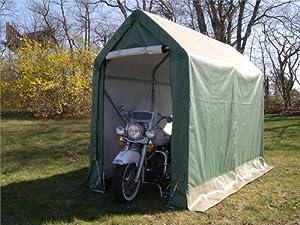 Amazon.com: Rhino Cycle Cabana Motorcycle Storage Shed ...