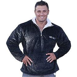 BIG SAM Sweater Sweatshirt Jacket Hoody UNCLE BODY DOG Logo *4616*