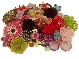 Tacie\'s Boutique~1/2 POUND Boutique Supplies-Flowers, Petals, Headbands, Clips, etc.