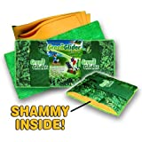 2 X Green Glider Microfiber and Shammy Mop Pad