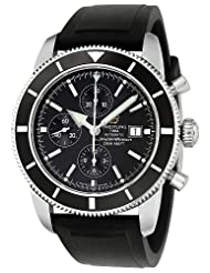 Breitling Men's A1332024-B908BKPT Superocean Heritage Chronograph Black Dial Watch