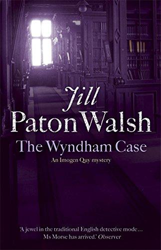The Wyndham Case (Imogen Quy, #1)