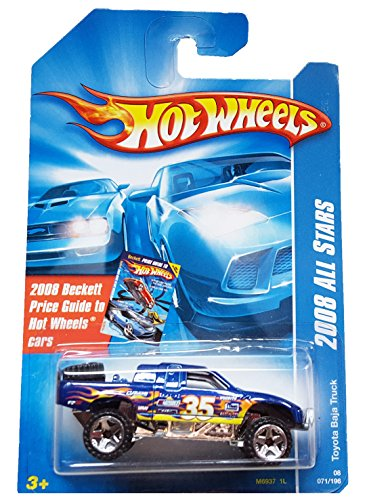 Hot Wheels 2008 All Stars Blue Toyota Baja Truck w/ OR5SPs #71 - 1