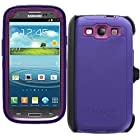 OtterBox Defender Series Case for Samsung Galaxy S III - Retail Packaging - Purple