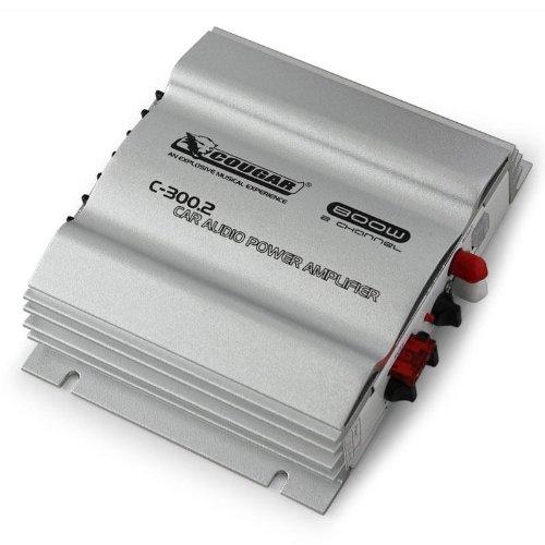Cougar-2-Kanal-Auto-Car-Stereo-Verstrker-MOSFET-max-800-Watt-silber