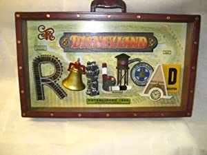 Disney Disneyland Railroad Train Shadow box Icon Letters 3D Art Work Picture NEW