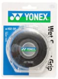 ヨネックス(YONEX) ウェットスーパーグリップ5本パック(5本入) ブラック AC1025P 007