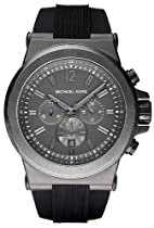 Michael Kors Chronograph Silicone Strap Mens Watch MK8206