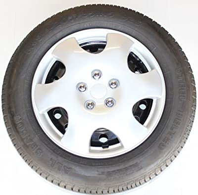 "15"" Set of 4 Hubcaps Toyota Corolla 2003 2004 Universal Fit Most 15 Inch Wheels"