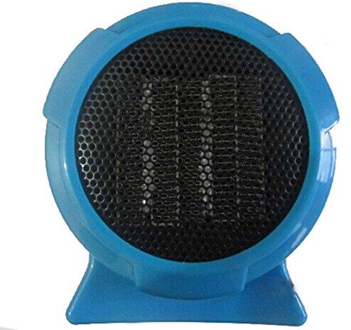 Tree Ccc Personal Mini Fan Forced Heater (One Size, Blue)
