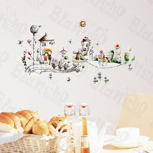 Never Land - Wall Decals Stickers Appliques Home Decor