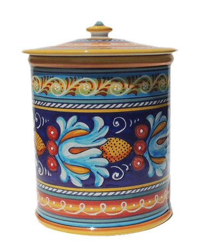 other kitchen dining amp bar italian ceramic canister 7 certified italia canister set