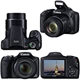 Canon Powershot SX530 HS 16.0 MP Digital Camera with 50x Zoom, Wi-Fi & 1080p Full HD Video + NB-6L Battery & AC/DC Charger + 10pc Bundle 32GB Deluxe Accessory Kit w/ HeroFiber® Gentle Cleaning Cloth